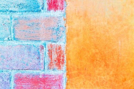 colorful wall texture Stock Photo - 11916288