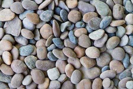 black pebble texture photo