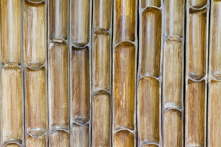bamboo wall texture and background photo