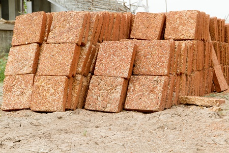 bricks for construction Stock Photo - 13152352