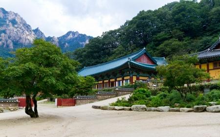 tempio coreano in Seoraksan