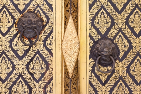 traditional thai door: thai door pattern and design Stock Photo & Traditional Thai Door Stock Photos Images. Royalty Free ... Pezcame.Com