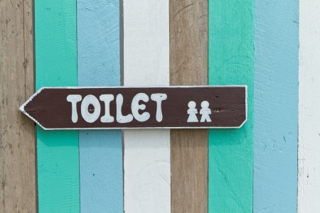 toilet sign  Stock Photo - 16418431