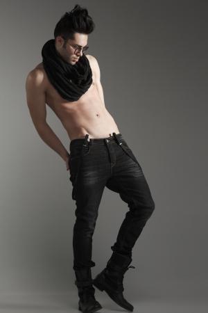 sexy fashion man model