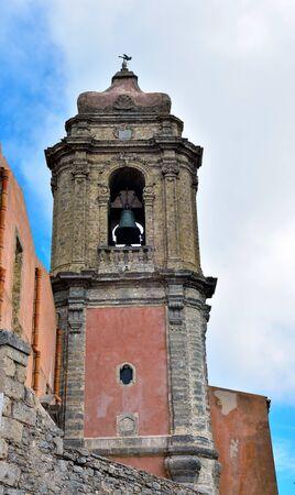 church of san giuliano Erice Sicily Archivio Fotografico