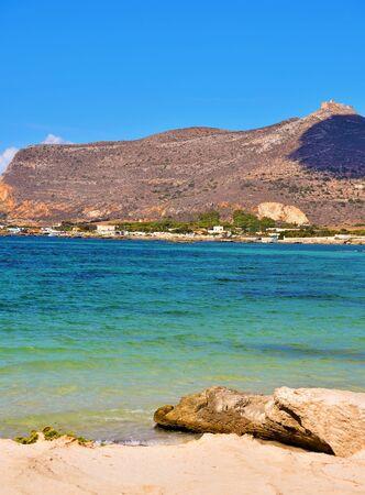 island of Favignana province of trapani Sicily Italy
