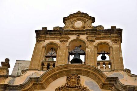 church of St. Chalcedony sec VI VIII, mazara del vallo sicily italy Archivio Fotografico