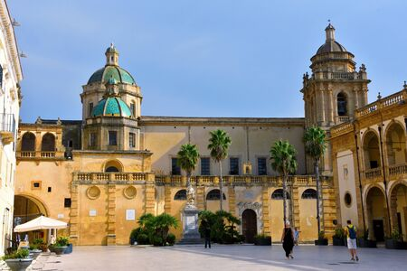 cathedral of Mazara del vallo Sicily Italy