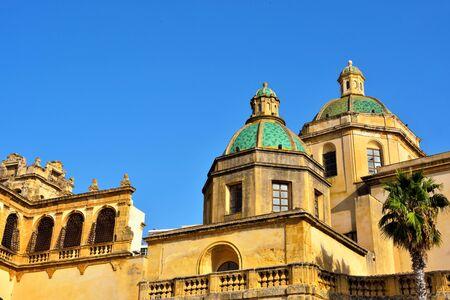 cathedral of Mazara del vallo Sicily Italy Stock fotó