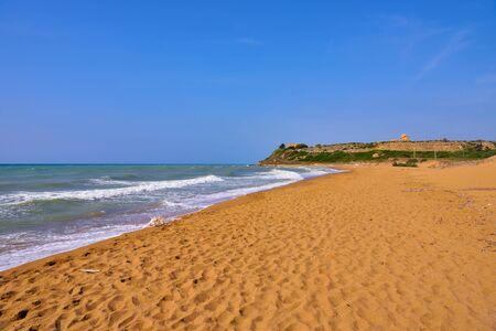 Castelvetrano Selinunte beach of Marinella Sicily Italy