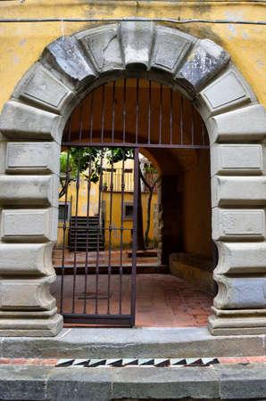 historical portals in Naso Sicily Italy