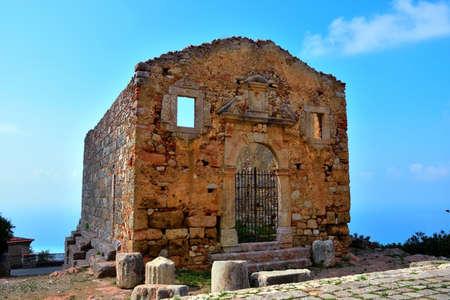 temple of hercules III IV century BC norman church of san marco d'alunzio sicily italy