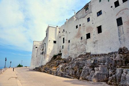 glimpse of ostuni, Puglia, Italy Imagens