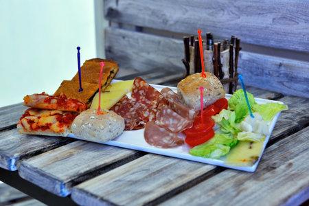 appetizers for Apulian typical aperitifs