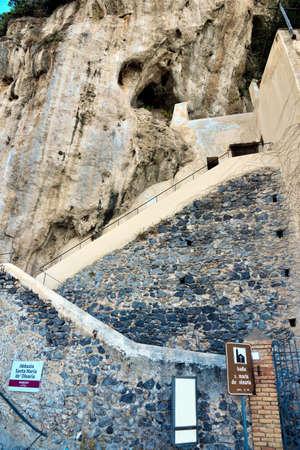 abbey santa maria de olearia amalfi coast Salerno Italy