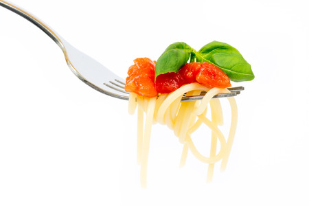 Isolated pasta on white background Stock fotó - 40388177