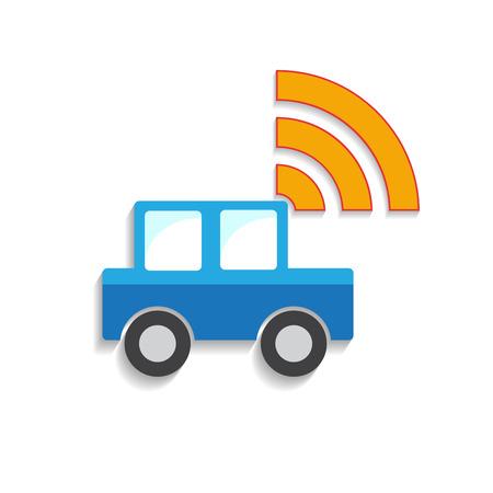 alternatively: Vector segno car sharing