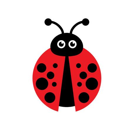 ladybug: Vector sign ladybug
