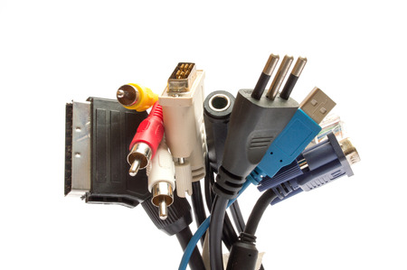 scart: cables and plugs for computers