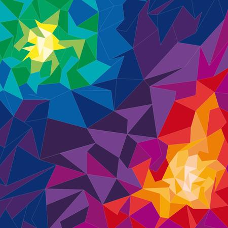 geometric shape: Vector de fondo geom�trico forma