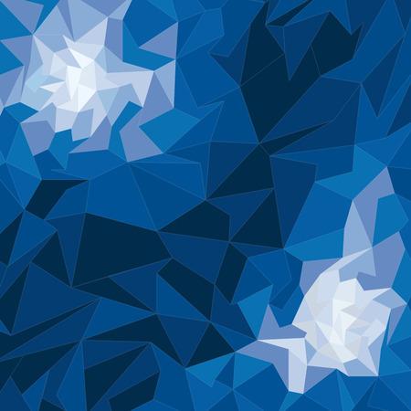 geometric shape: Vector geometric shape background Vectores