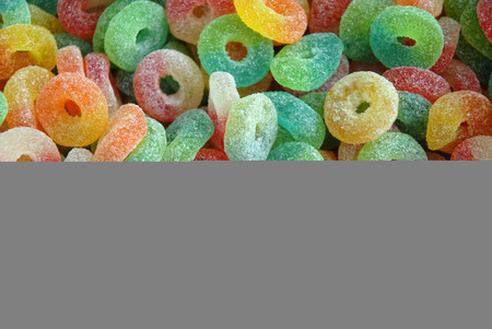rubbery: background with marshmallows Stock Photo