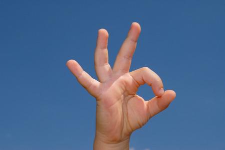 okay: language of the hands okay