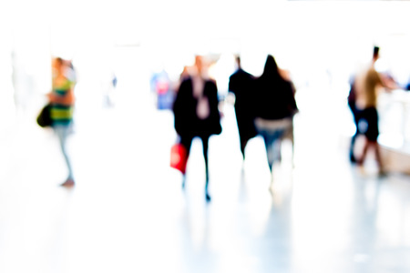 intentionally: People background intentionally blurred