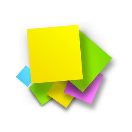 postit: Vector postit background