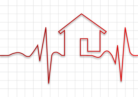check up: House check up, vector background
