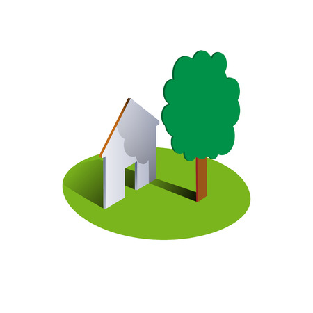 draftsman: Vector sign Housing Illustration