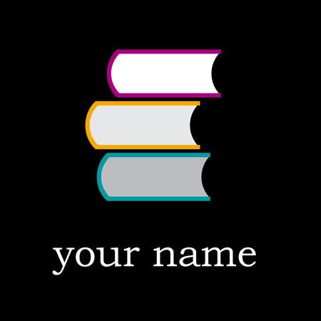 bookshop: Vector sign bookshop