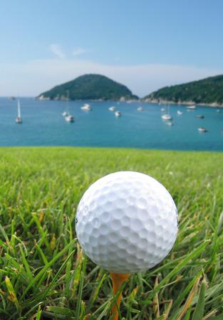 golf  ball: Golf en el mar