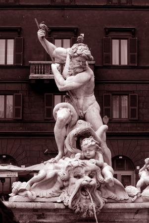 navona: Rome, Navona square