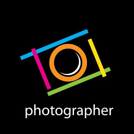 photographer: Vector sign photographer