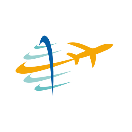 agencia de viajes: Vector signo viajes Vectores