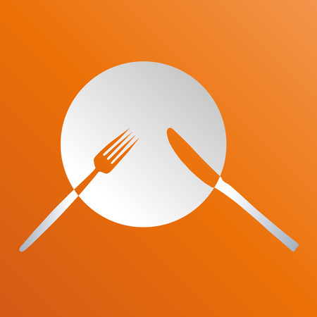 Vector sign cook, international cuisine Illustration