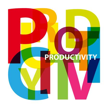 an example: Vector productivity. Broken text Illustration