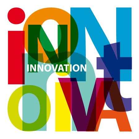 innovacion: Vector Innovaci�n. Texto roto Vectores