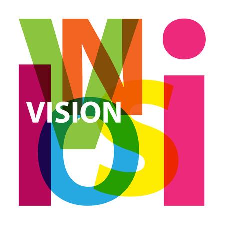 an example: Vector vision. Broken text