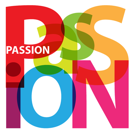 passion: Vector Passion. Broken text
