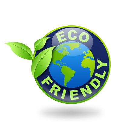 Sign Eco Friendly illustration Stock fotó - 45982394