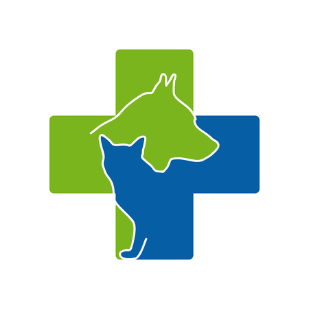 Vector sign Veterinary