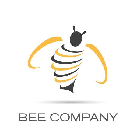 Vector Regístrate Bee Company Vectores