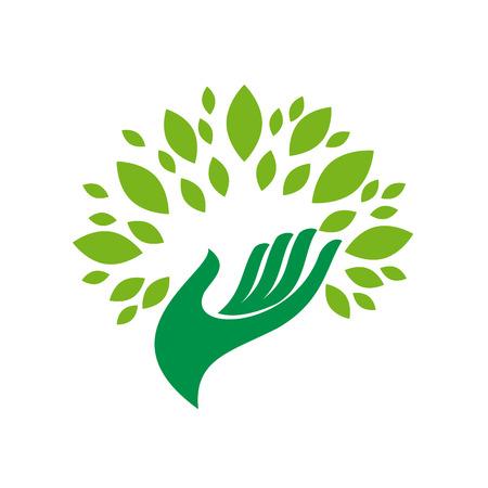 medio ambiente: Vector firmar el medio ambiente