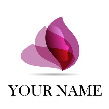 Vector firmar spa, yoga y relajación