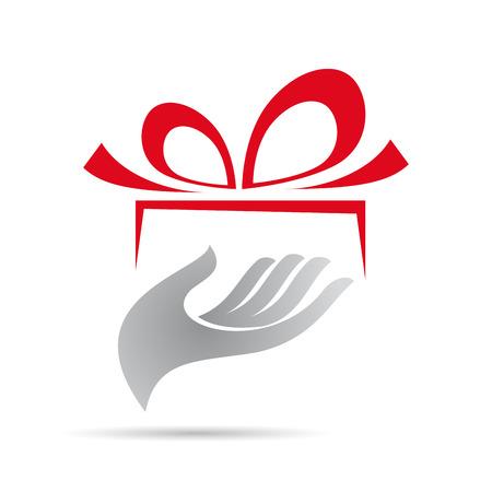 dar un regalo: Muestra del vector dar un regalo Vectores
