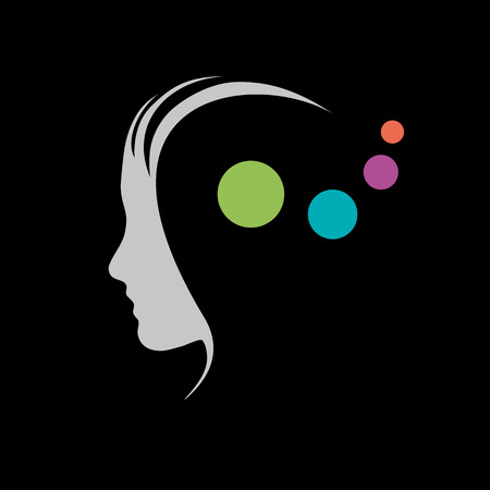 Vector sign concept of psychologist, analist or scientist