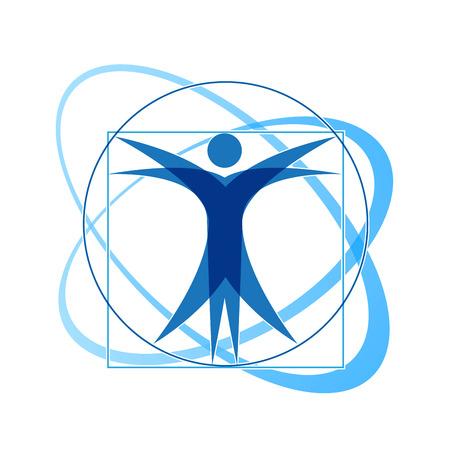 fisioterapia: Vector Regístrate Leonardo da Vinci