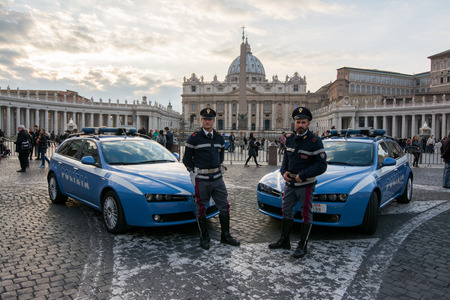 enhanced: VATICAN CITY, 14 november 2015 - Enhanced security in Rome after the terrorist attacks in Paris, waiting for the jubilee.
